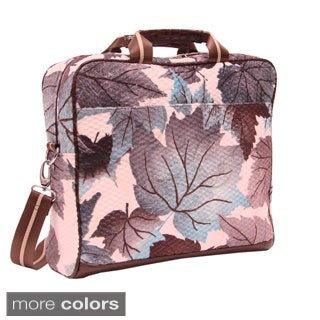 Mellow World Maple Floral Tapestry 15-inch Laptop Case