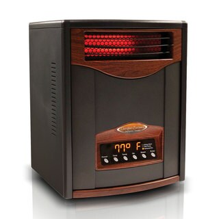 Comfort Furnace Matte Black 1500-watt Infrared Heater