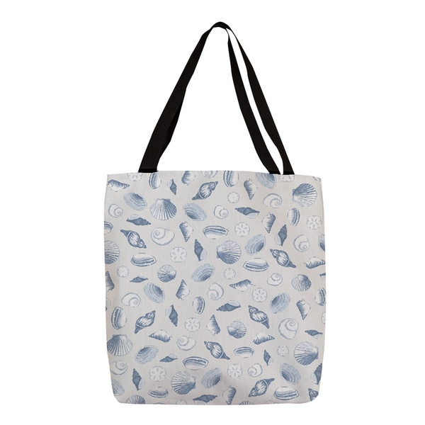 Thumbprintz 'Shells All Over' Blue Graphic Print Tote