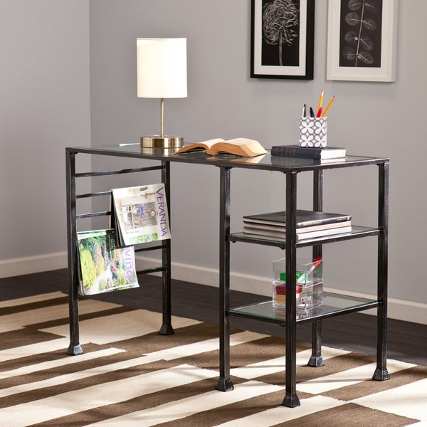 Harper Blvd Amelie Metal And Glass Writing Desk 16561616
