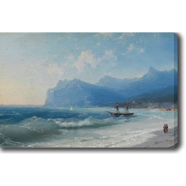 Sailing in the Morning' Oil on Canvas Art