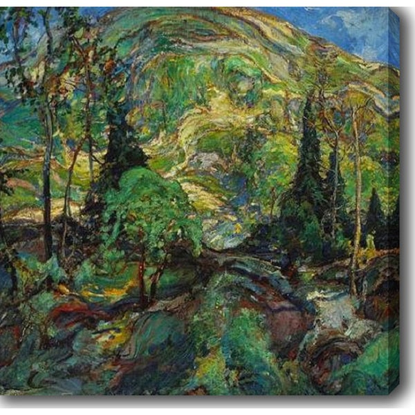 Charles Reiffel 'In The Hills' Oil on Canvas Art 13829253