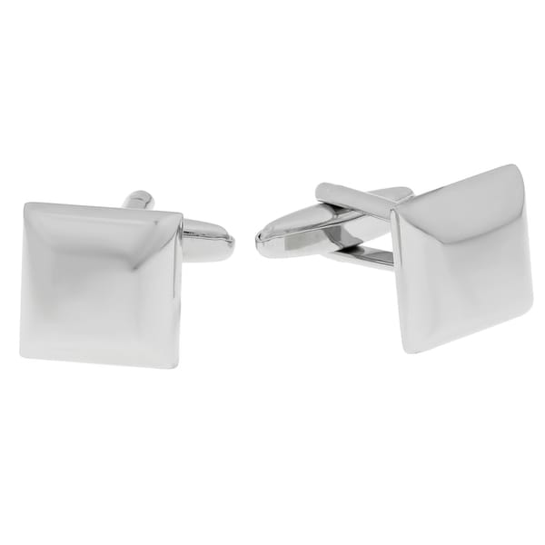 Stainless Steel High Polished Square Cuff Links