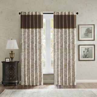 Madison Park Augustina Curtain Panel Pair