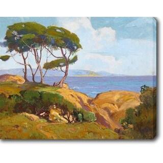 The Coast' Oil on Canvas Art
