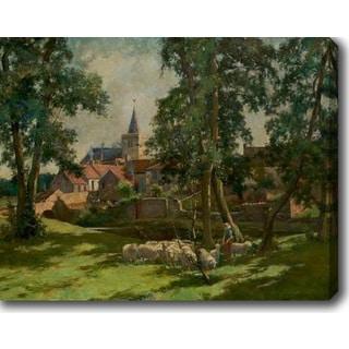 The Castle' Oil on Canvas Art