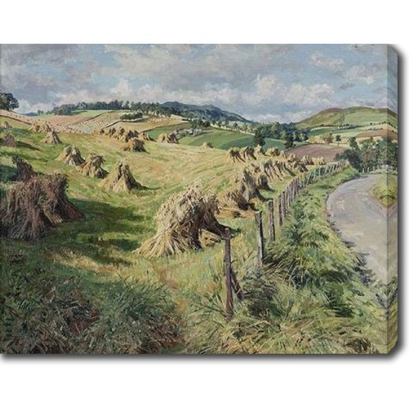 The Haystacks' Oil on Canvas Art