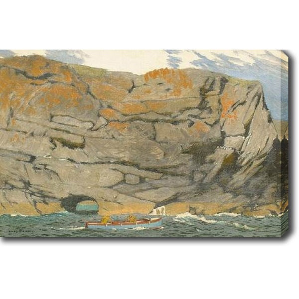 The Cliff' Oil on Canvas Art