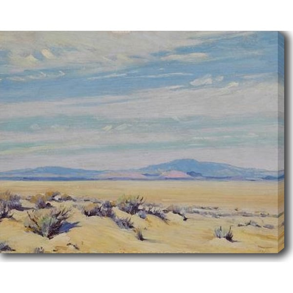 The Desert' Oil on Canvas Art