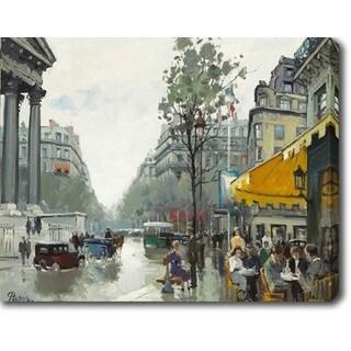 The City' Oil on Canvas Art
