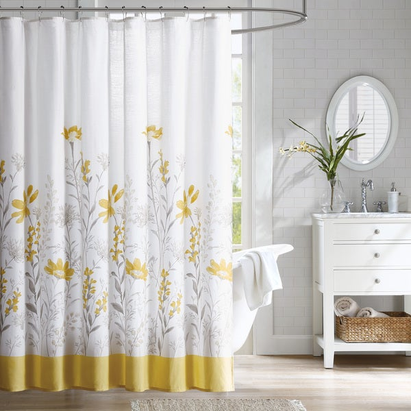 Estate Cotton Dobby Shower Curtain