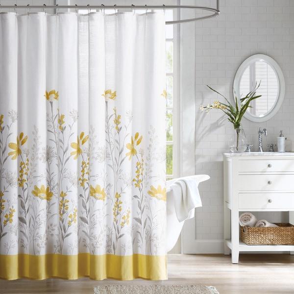 Estate Cotton Dobby Shower Curtain