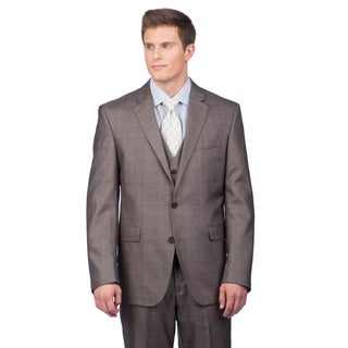 Kenneth Cole Crème Label Men's Grey Suit Separates Coat