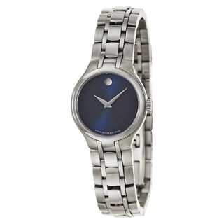 Movado Women's 0606370 'Collection' Stainless Steel Swiss Quartz Watch