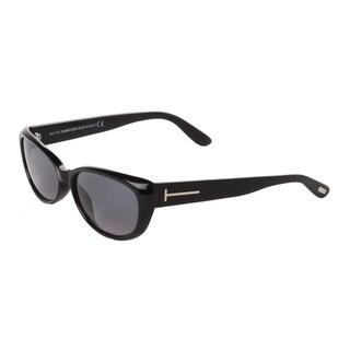 Tom Ford Women's 'Sebastian TF232 83T' Black Butterfly Sunglasses