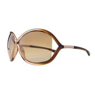 Tom Ford Women's 'Whitney TF9-74F' Rose Butterfly Sunglasses