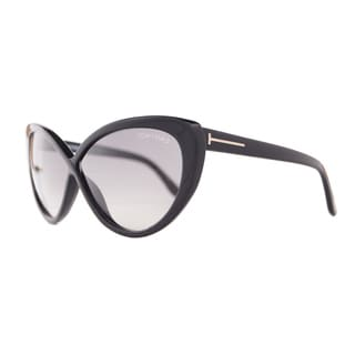 Tom Ford Women's 'Madison FT0253 01B' Cat-eye Sunglasses