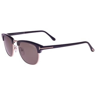Tom Ford Unisex 'Henry TF248 05N' Aviator Sunglasses