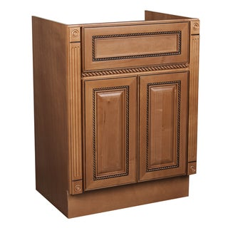 marquis cinnamon maple bathroom vanity overstock