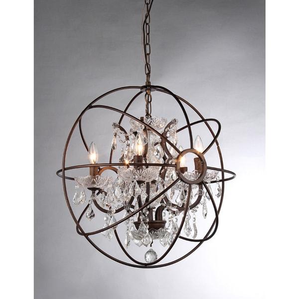 Warehouse Of Tiffany Planetshaker Antique Bronze Spherical