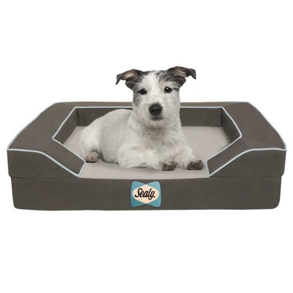 Sealy Small Cooling Memory Foam Pet Bed