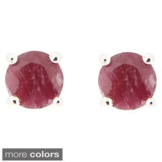 Pearlz Ocean Precious Gemstone Stud Earrings