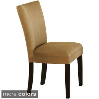 Aprilia Sunrise Upholstered Dining Chairs Set Of 2 14327094 Overstock C