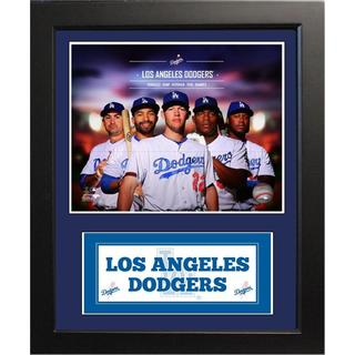 Deluxe 2014 MLB Los Angeles Dodgers Photo Black Frame