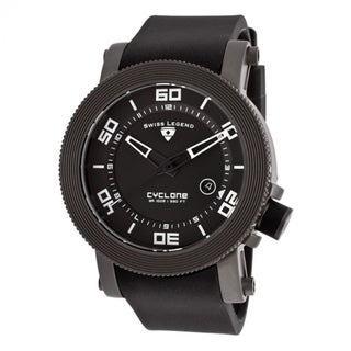 Swiss Legend Men's Cyclone SL-30464-GM-01 Black Watch
