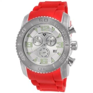 Swiss Legend SL-10067-02S-RDS Men's Commander Red Watch