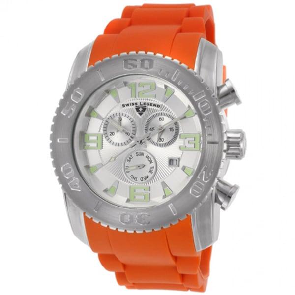 Swiss Legend SL-10067-02S-ORS Men's Commander Orange Watch