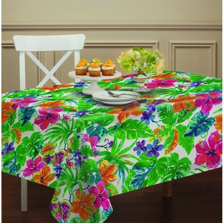 Summer Paradise Indoor/ outdoor Table Cloth