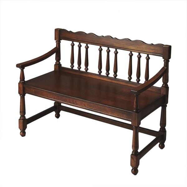 Nostalgic Balustrade Bench
