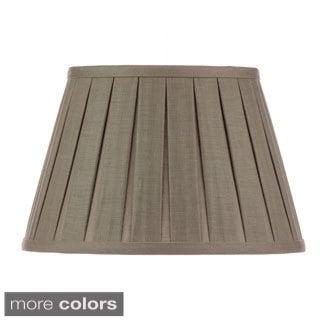 Open Box Pleat Linen Lampshade