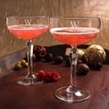 Personalized Coupe Cocktail/Champagne Glasses (Set of 2)
