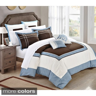 Bohemia Embroidered 11-piece Comforter and Sheet Set