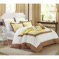 Chic Home Bohemia Embroidered 7-piece Comforter Set