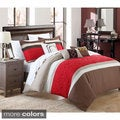 Chic Home Carla 6-piece Embroidered Comforter Set