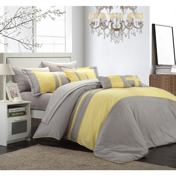 Siesta 10-piece Comforter and Sheet Set