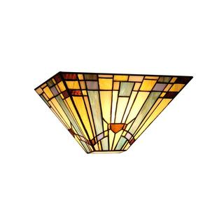 Tiffany Style Mission 1-light Wall Sconce