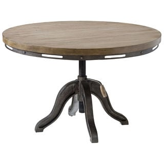 Mechanica Wood and Metal Cocktail Table
