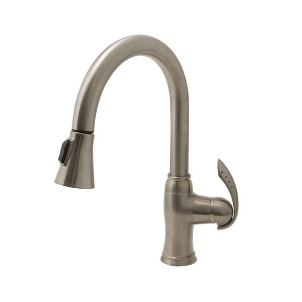 Sir Faucet Single Handle Pull Down Kitchen Faucet