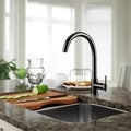 Sir Faucet Genuine Brass Streamlined Kitchen or Bar Faucet