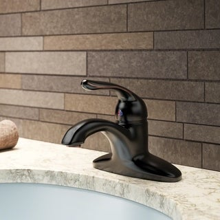 Sir Faucet 701 Single Handle Bathroom Faucet