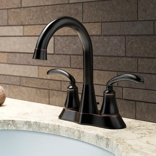 Sir Faucet 7042 Double Handle Bathroom Faucet