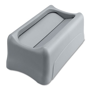 Rubbermaid Commercial Grey Swing Lid for Slim Jim Waste Container