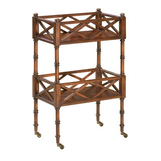 Charming Plantation Cherry Wood Mobile Server
