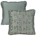 Rose Tree Audubon 18-inch Embroidered Throw Pillow