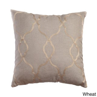 Camay Faux Linen 18-inch Throw Pillow (Set of 2)