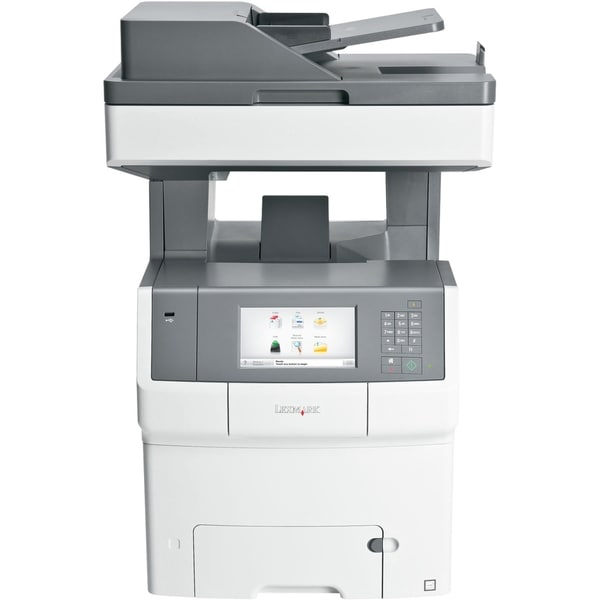 Lexmark X740 X748DE Laser Multifunction Printer - Color - Plain Paper